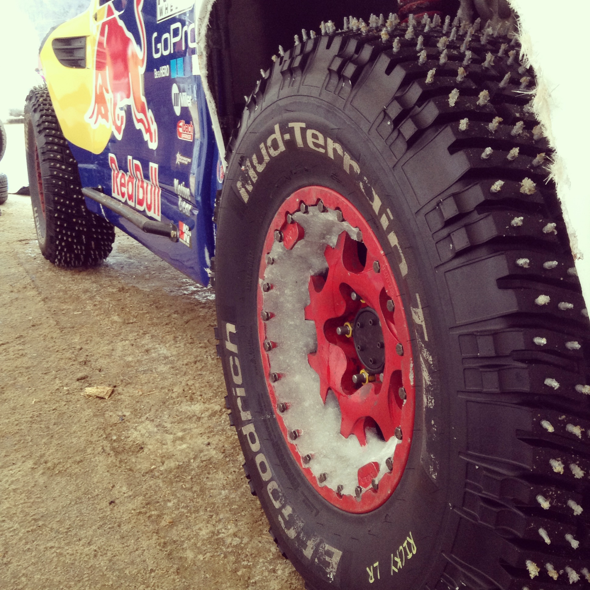 BFGoodrich Tires Prepared to Conquer Snow At Red Bull Frozen Rush