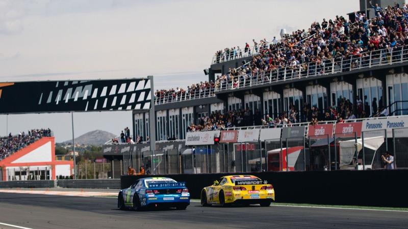 Day grabs Euro NASCAR season opener