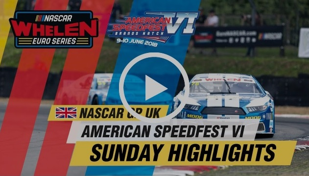 NASCAR Whelen Euro Series Brands Hatch Highlights