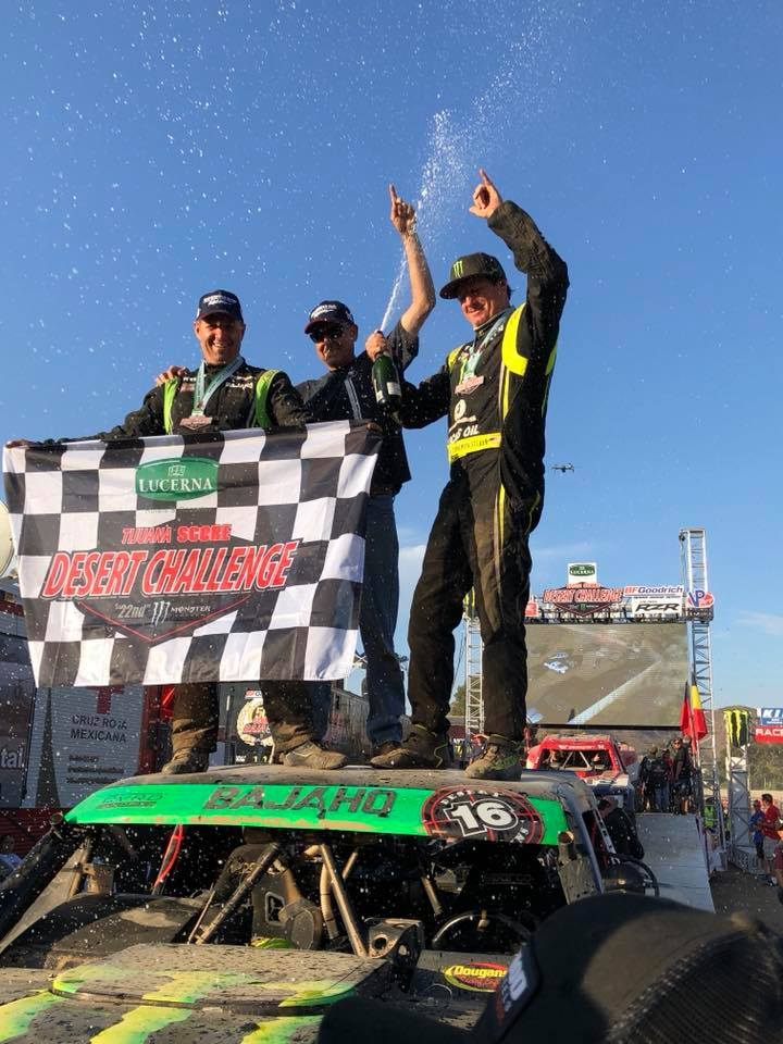 Cameron Steele grabs first SCORE Trophy Truck vict…