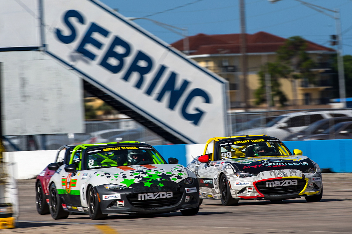 Sparks Scores $50,000 Global Mazda MX-5 Cup Challe…