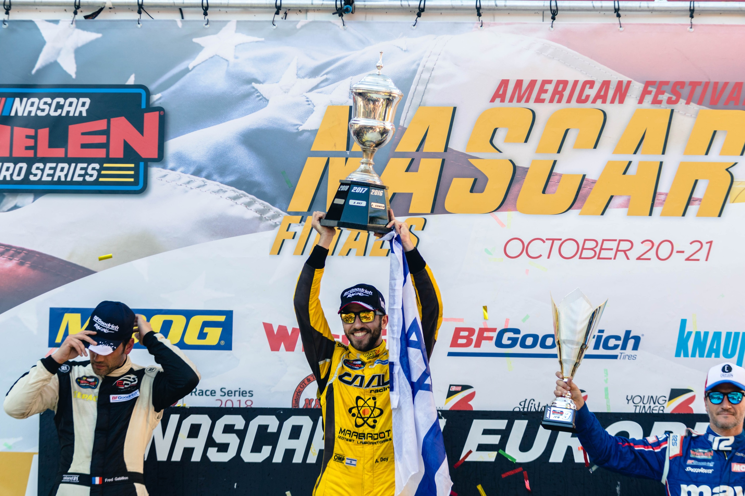 Alon Day is a two-time Euro NASCAR Champion!