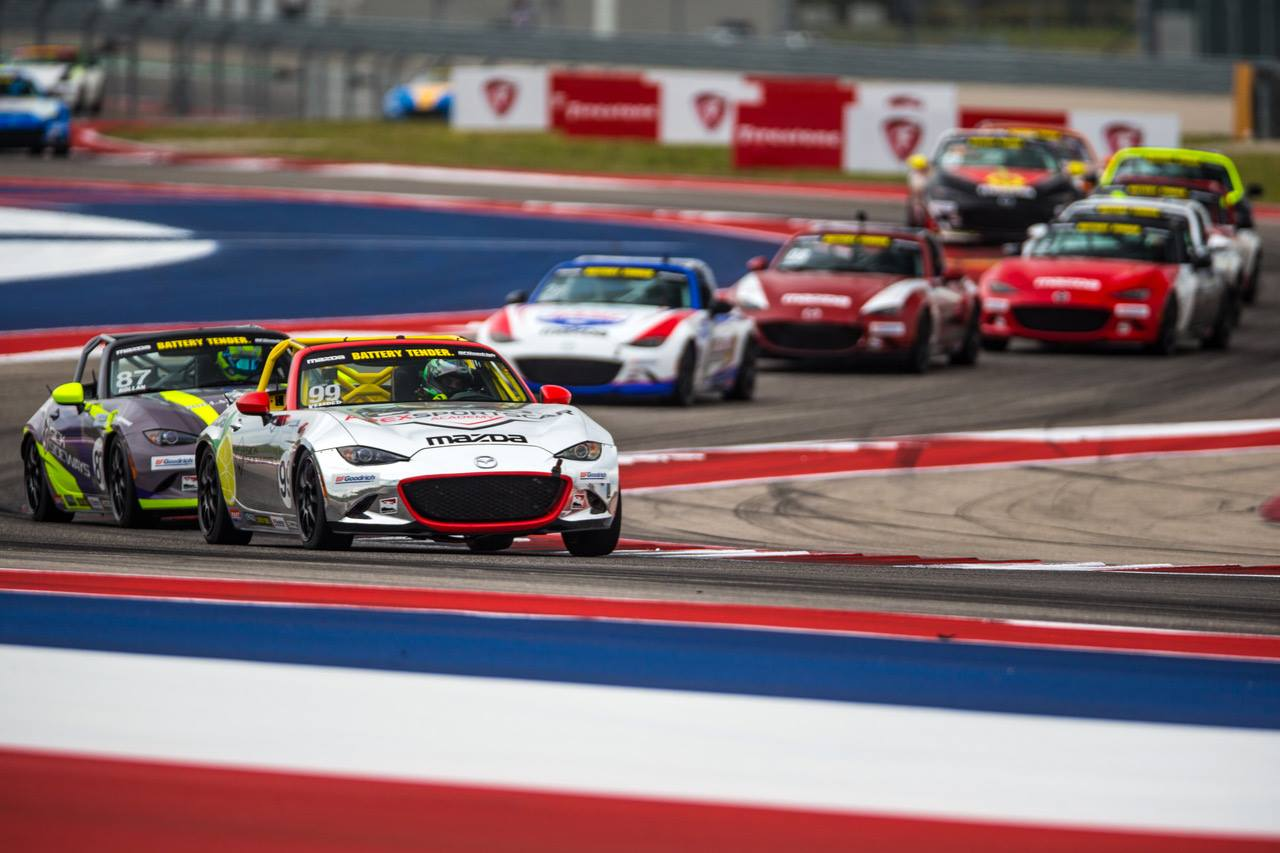 Kemper Wins Global Mazda MX-5 Cup Thriller at COTA