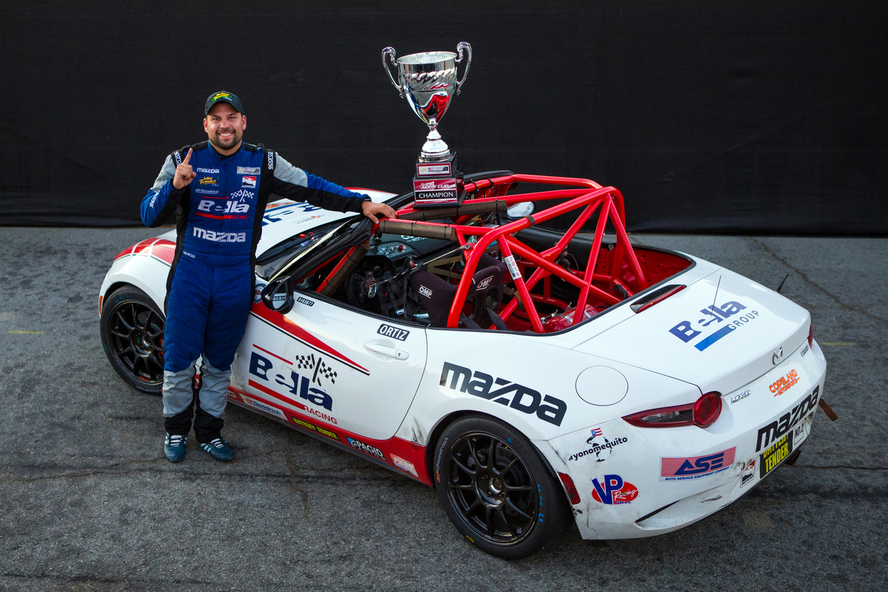 Bryan Ortiz Wins 2019 Battery Tender® Global Mazda…