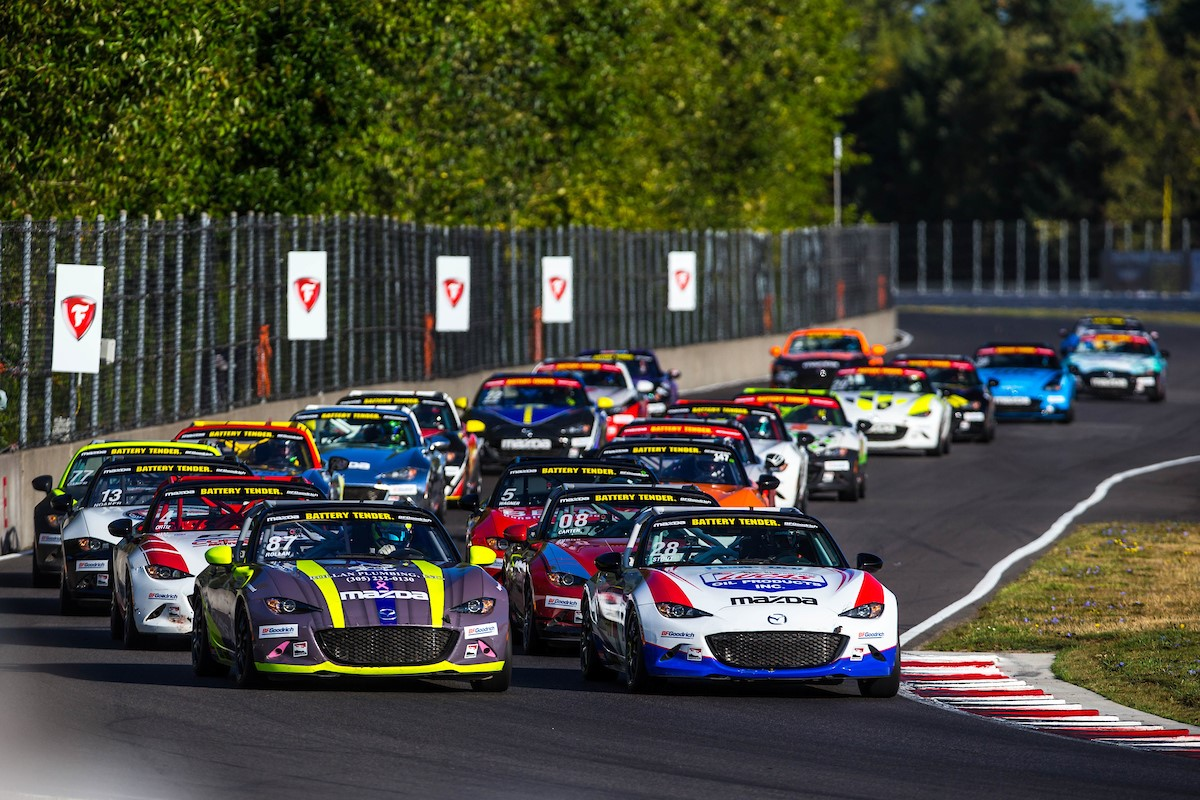 Six Drivers Set to Fight for Global Mazda MX-5 Cup…