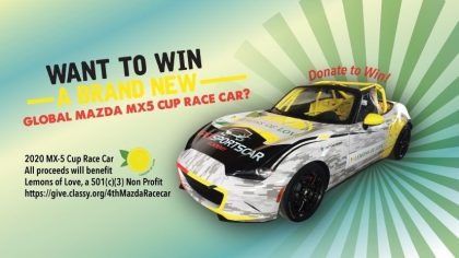 Win a Mazda MX-5 Global Cup Car!