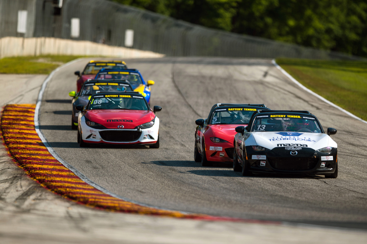Noaker Completes Perfect Global Mazda MX-5 Cup Wee…