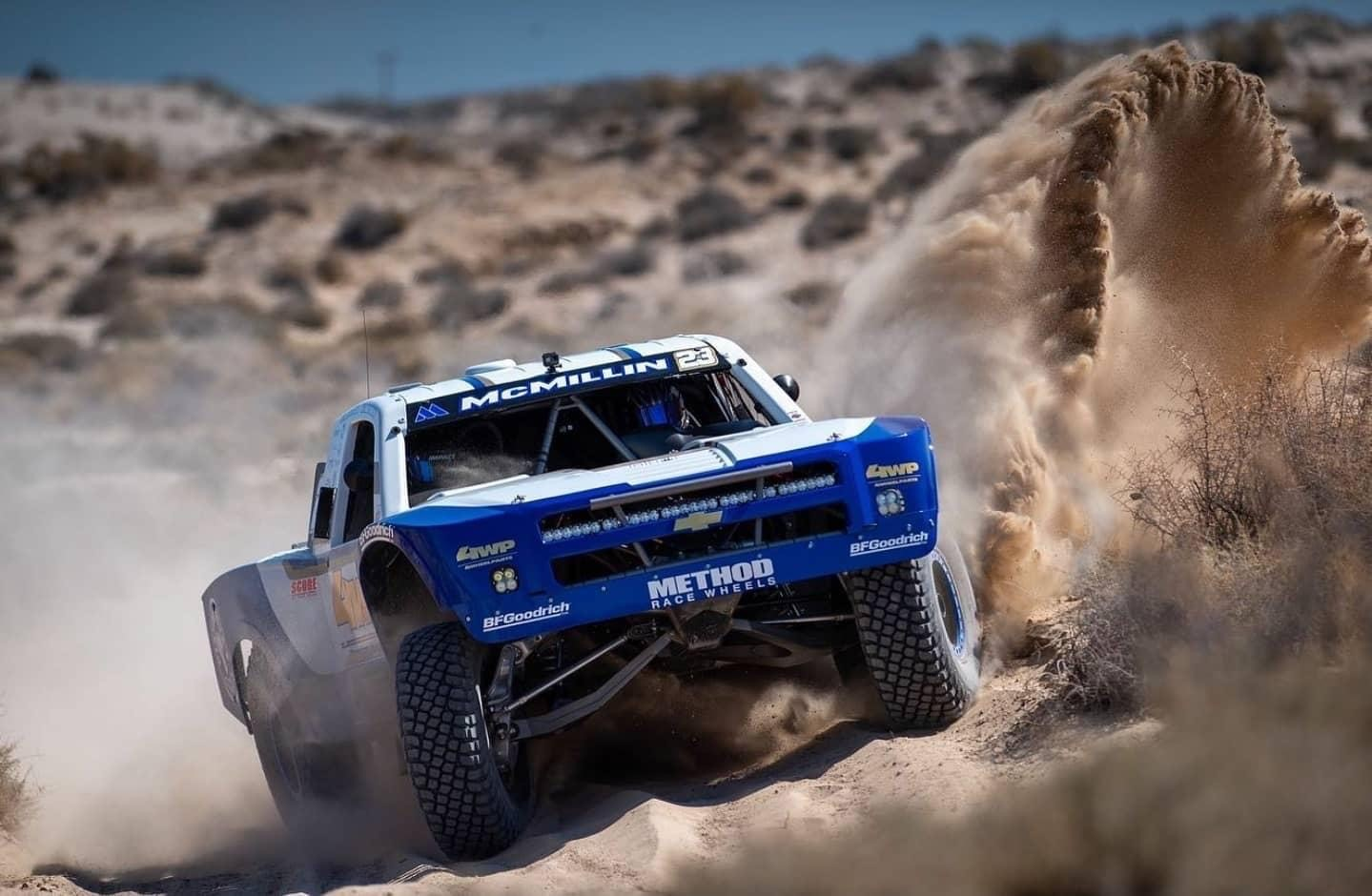 Dan McMillin takes SCORE Trophy Truck and Overall…