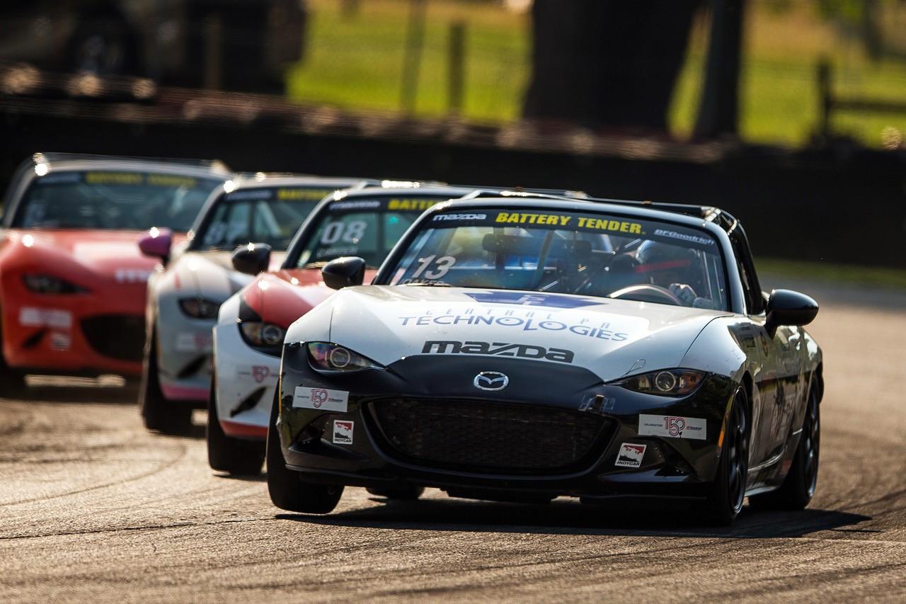Noaker Banks His Third Global Mazda MX-5 Cup at Mi…