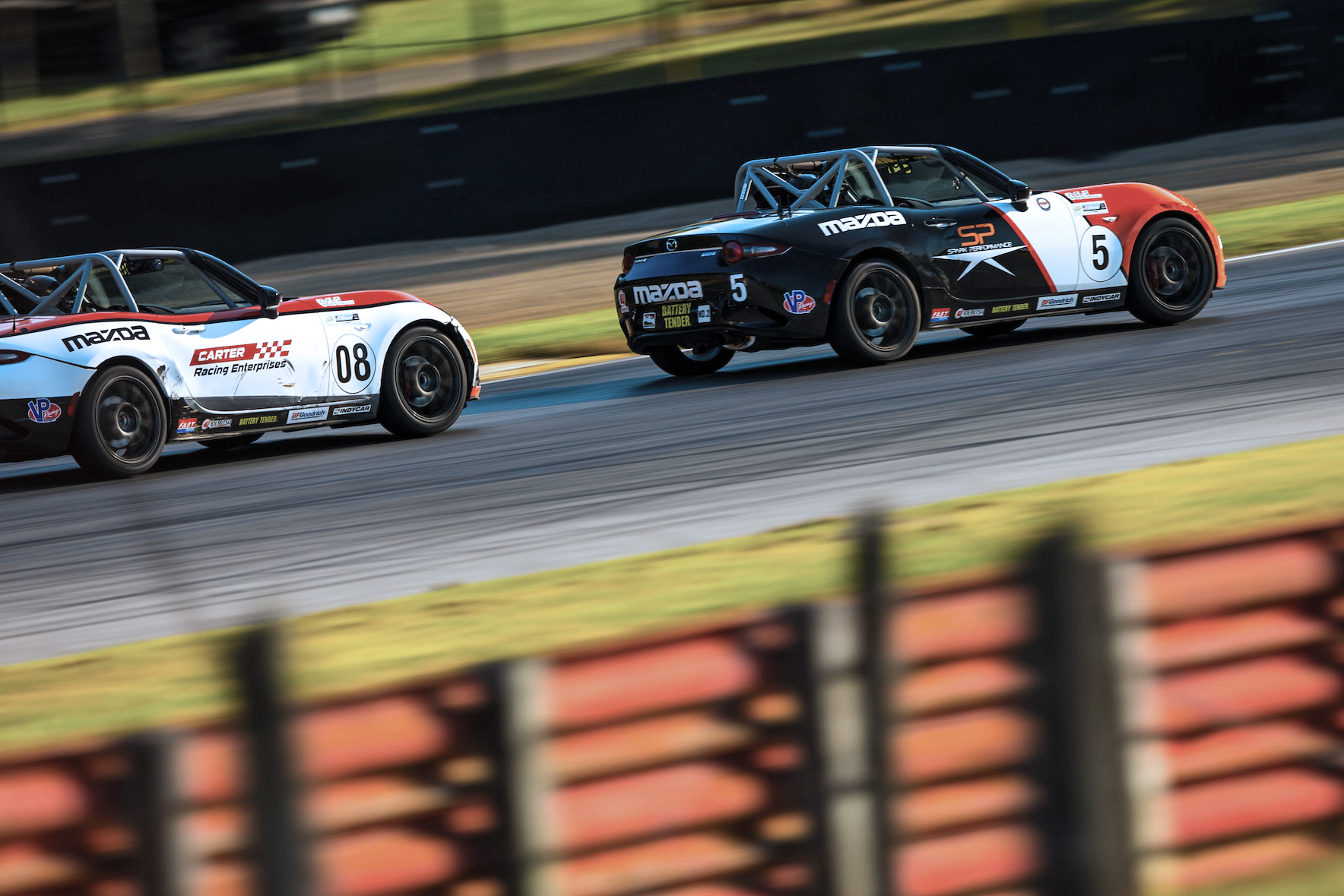 Wagner Cruises to Global Mazda MX-5 Cup Race Two V…