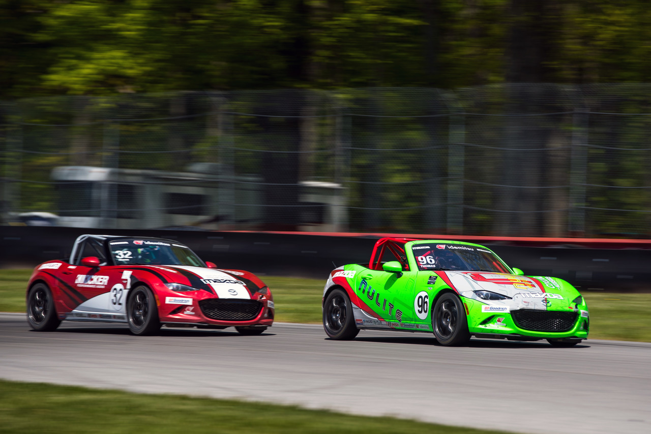 Nunes Nabs First Mazda MX-5 Cup Victory at Mid-Ohi…